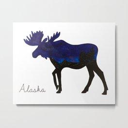 Moose 2 Metal Print