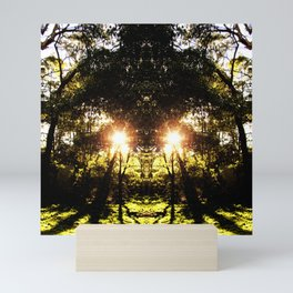 DMT Ferntree Forest Mini Art Print