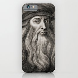 Leonardo da Vinci iPhone Case
