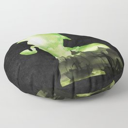 The Cursed Treasure Floor Pillow