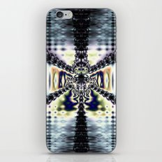Purple Space iPhone & iPod Skin