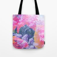 aloha Tote Bags featuring Aloha by Tyler Spangler
