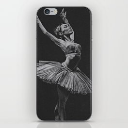 Ballet dancer iPhone Skin