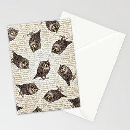 Otus pocus Stationery Cards