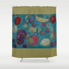 Retro Kitchen  WC20150714a Shower Curtain