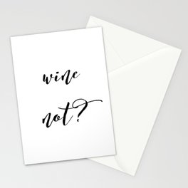Wine Not? Stationery Cards