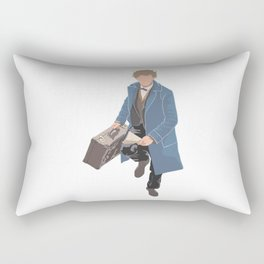 Scamander Running Rectangular Pillow