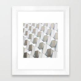 Pattern cubism Framed Art Print