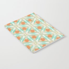 Moorish Teal Terracotta Notebook