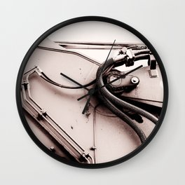 Dig Doug Industry Machine Abstract Wall Clock