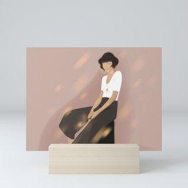 Tina Scamander Mini Art Print