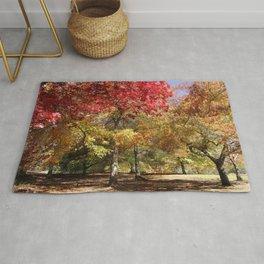 Autumn Sunshine Landscape Rug
