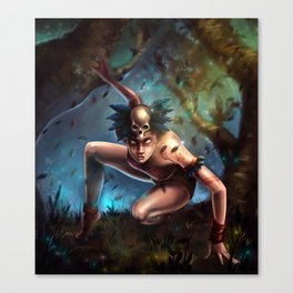 The Wild Thing Canvas Print