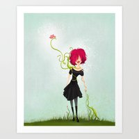 Growing Art Print