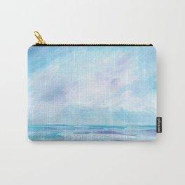 Sun Showers - Purple Ocean Seascape Carry-All Pouch
