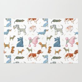 All About Dogs Rug