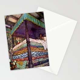 """""""The Real Princess"""" by Edmund Dulac Stationery Cards"""