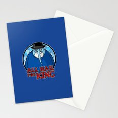 The King of Ice Stationery Cards