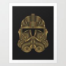 Star . Wars - Clone Trooper Art Print