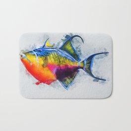 Trigger Fish Bath Mat