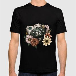 Dungeon Master D20 Tabletop RPG Gaming Dice T-shirt