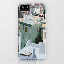 San Francisco Houses iPhone Case
