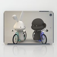 bikes iPad Cases featuring bikes by coffee & fried chicken