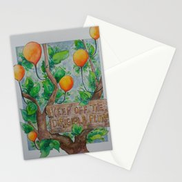 Keep Off Stationery Cards