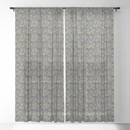 Party Lights Sheer Curtain