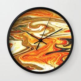 Marbled XIII Wall Clock