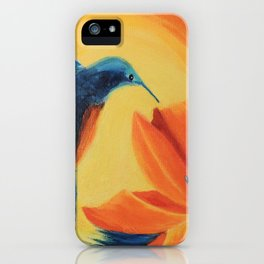 Sun radiation | Rayonnement de soleil iPhone Case