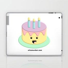Cute Birthday Cake Laptop & iPad Skin