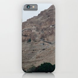 Monastery of The Temptation in Israel iPhone Case