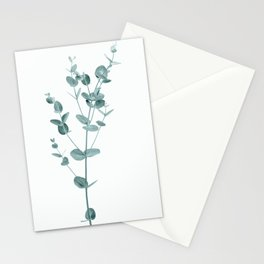 Minimal Eucalyptus Stationery Cards