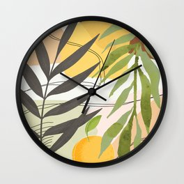 Elegant Shapes 29 Wall Clock