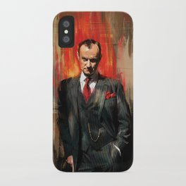 Mycroft Holmes iPhone Case