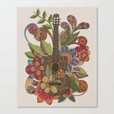 Ever Guitar Canvas Print