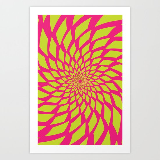 lysergic Art Print