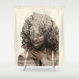 Integrated photos Shower Curtain