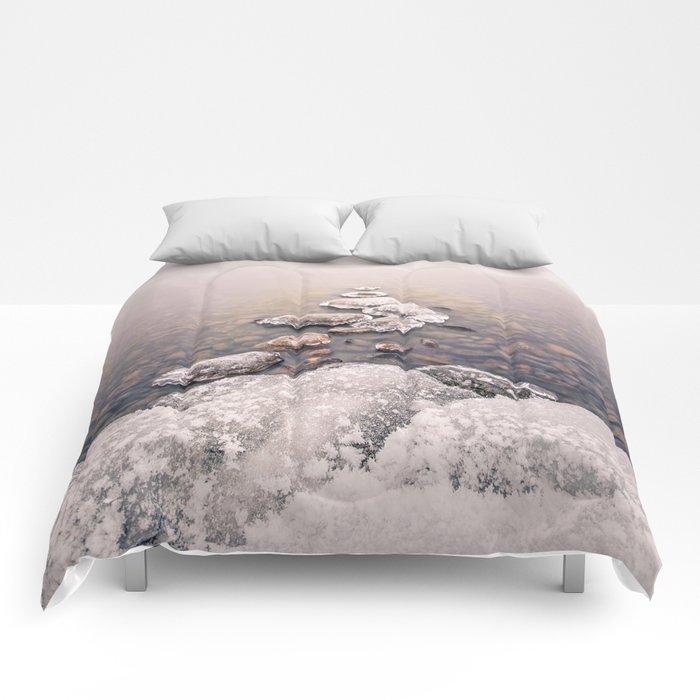Frozen Path Comforters