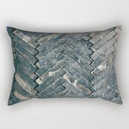 Brick Floors Rectangular Pillow