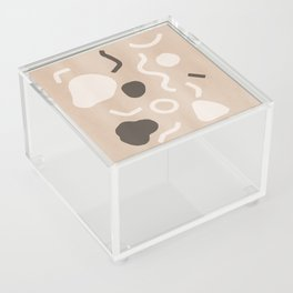 Abstract Confetti Acrylic Box