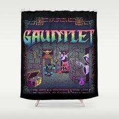 Let's Gaunt Shower Curtain