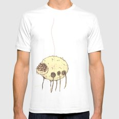 Spider MEDIUM White Mens Fitted Tee