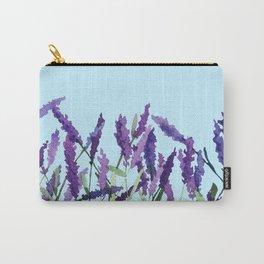 """Violet lavender"" Carry-All Pouch"