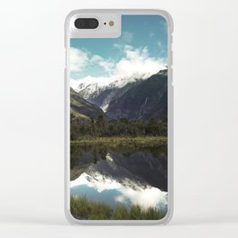 (Franz Josef Glacier) Where the snow melts Clear iPhone Case