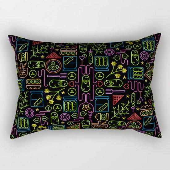 Pickles - Saturday Night Rectangular Pillow