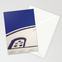 Santorini Churches IV Stationery Cards