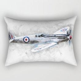 Spitfire Sketch Rectangular Pillow