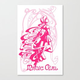 Magic Girl Archetype Canvas Print